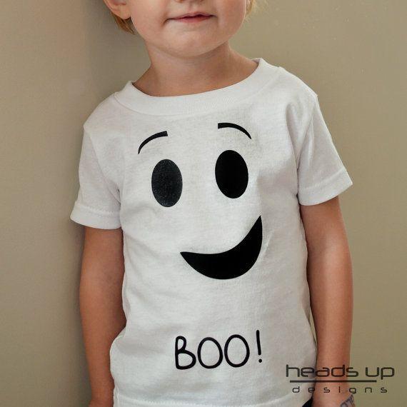 Kids Ghost Shirt - Toddler Halloween Shirt - t-shirts for Toddlers - Toddler tshirt - Ghost costume for Toddler - Boy Shirt - Girl Shirt -