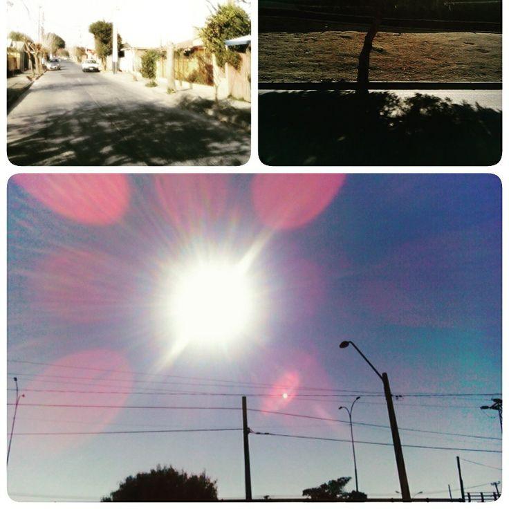 Puesta de sol en mi ciudad Rancagua- Chile!!!