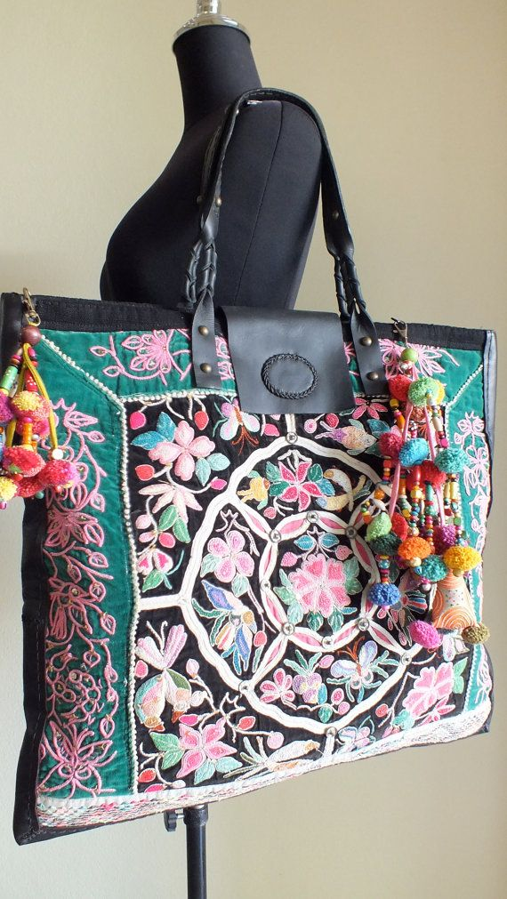 SALE Ethnic bags Vintage Handbags Hilltribe / by shopthailand, $129.99