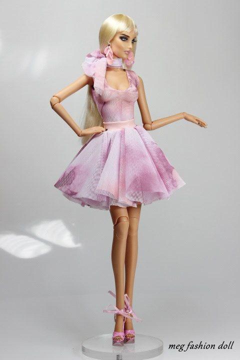 https://flic.kr/p/w4vz4d | New outfit for Kingdom Doll / Deva Doll ''Pink'' | www.ebay.com/itm/-/301706737548?