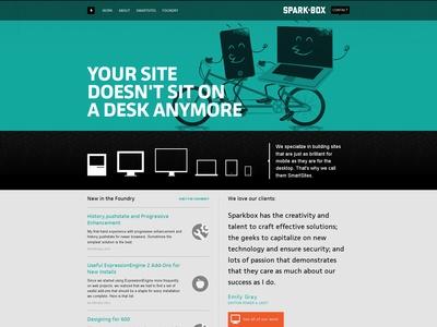 Sparkbox - Desktop