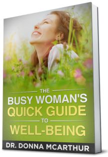 Subscribe to Get The Busy Woman's Quick Guide to Well Being for FREE.