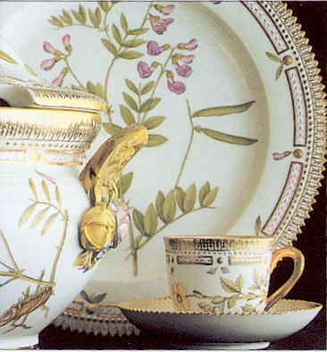 Royal Copenhagen Flora Danica - the most expensive china in the world. *swoon*