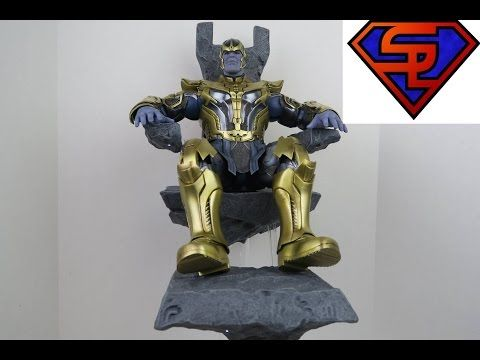 Guardians Of The Galaxy Hot Toys Thanos Movie Masterpiece 1/6 Scale Collectible Figure Review - YouTube