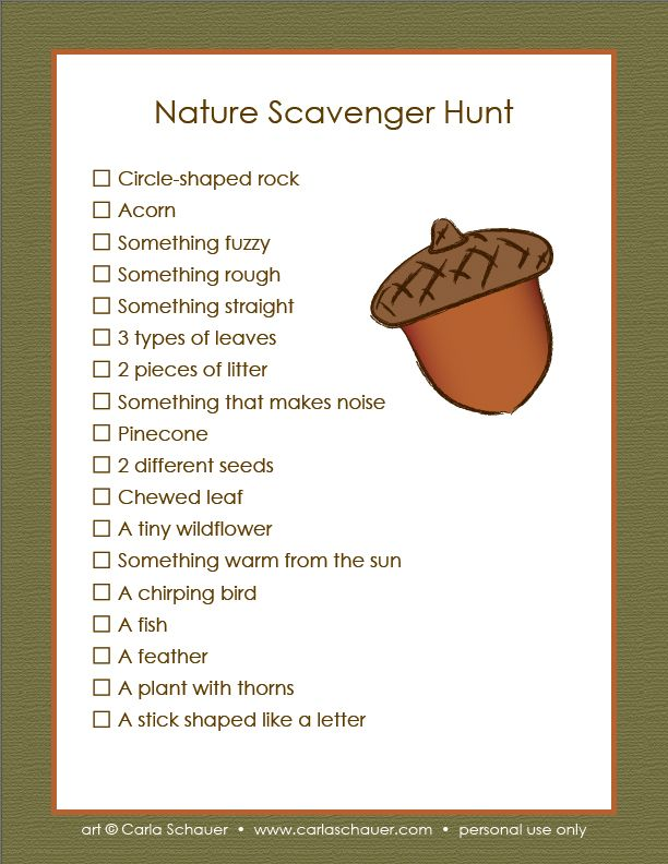 how to create a scavenger hunt for adults