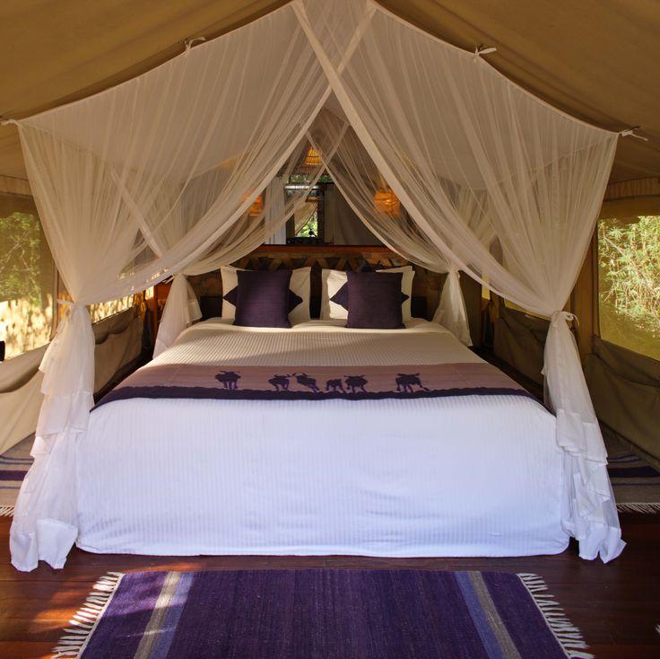 Sarova Mara Standard Tent Interior