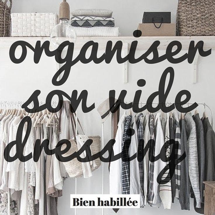Organiser Vide Dressing Chez Soi