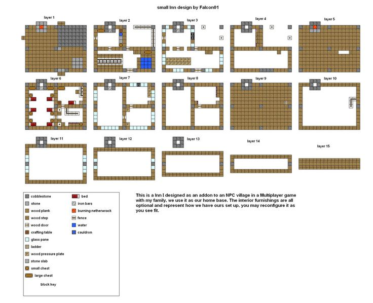 112 best images about minecraft blueprints on pinterest for Minecraft simple modern house blueprints
