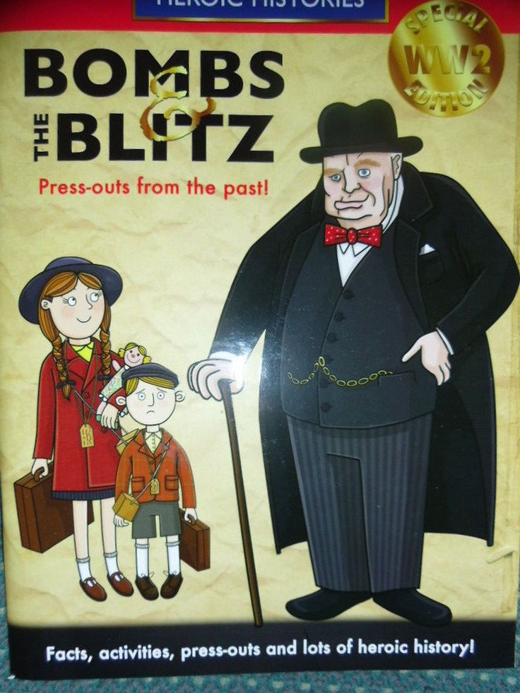 Bombs and the Blitz Press outs - Books Childrens