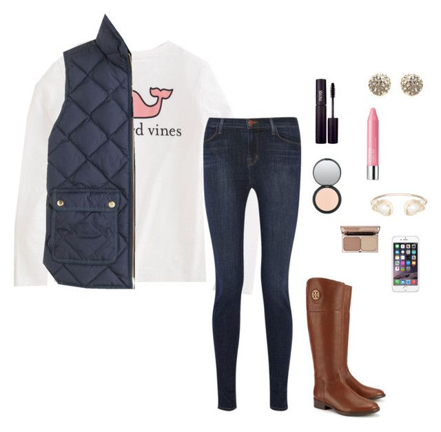 """""""Preppy fall outfit"""" by laurenemcclain ❤ liked on Polyvore"""