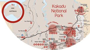 Kakadu National Park maps are essential for your adventure