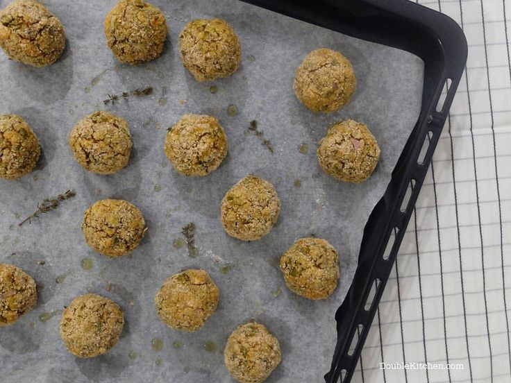 Vegan chickpea and vegetables croquettes flavoured with cumin   Instagram di @doublekitchen