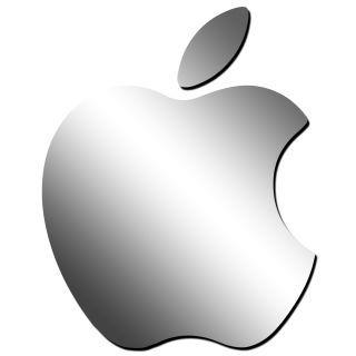 Декоративное зеркало от 2stick.ru Логотип Apple