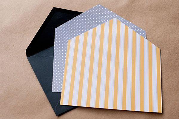DIY with the Sweetest Occasion envelopes with liners