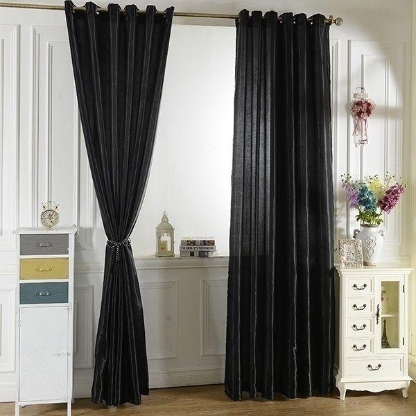 Door Room Half Blackout Curtain Drapes Window Screen Curtain 12