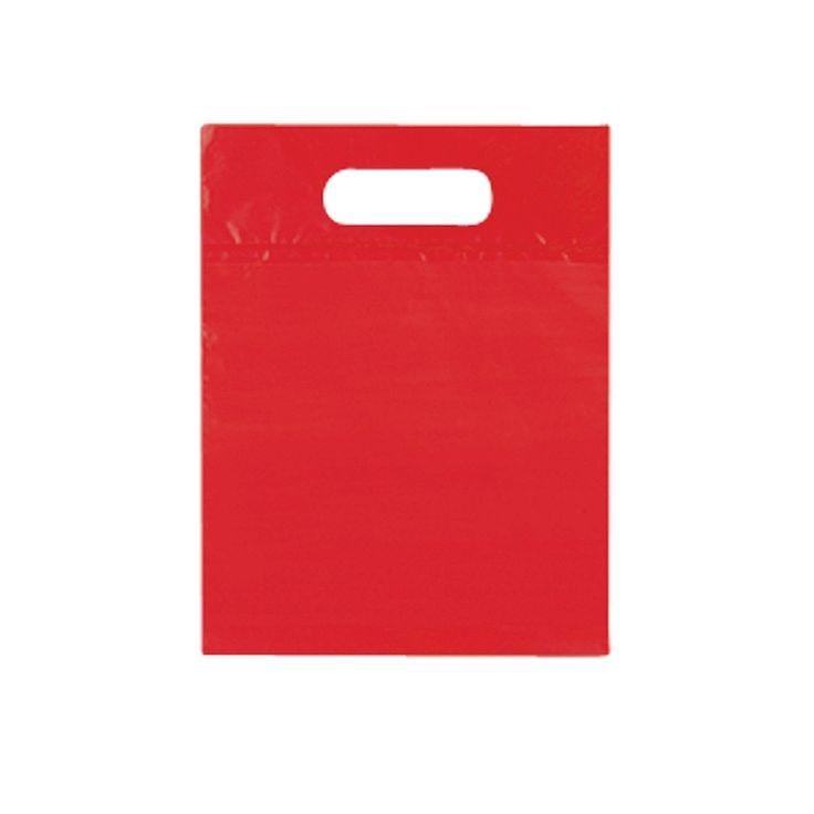 With its extra strong double die cut handle and bottom gusset these are made from a high quality 1.9 mil LDPE plastic. Durable and flexible these are great for everyday use. With a selection of various colours these are one of our best sellers!