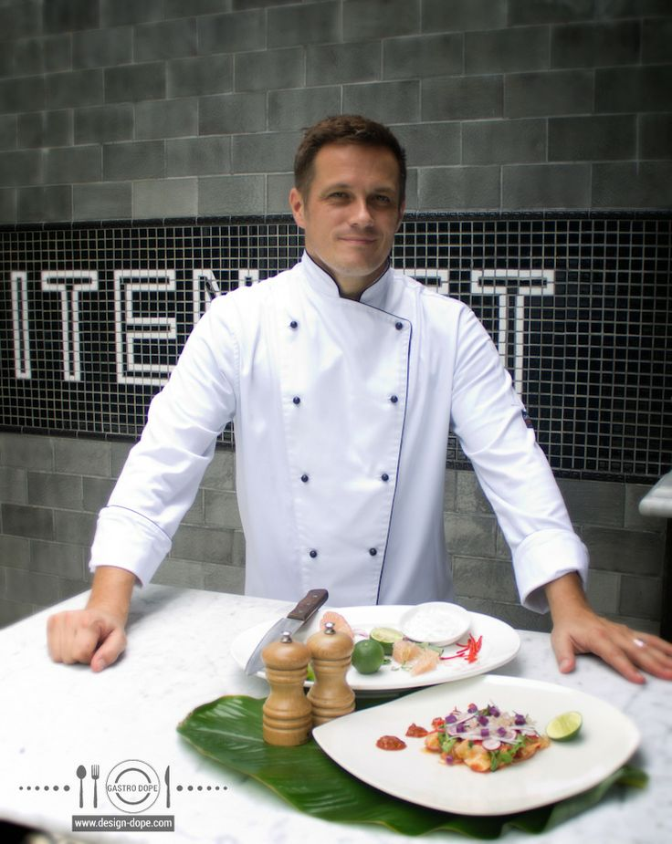 GASTRO DOPE ..... http://bit.ly/DD-Gastro  Cooking up a storm with chef Simon Blaby from Petitenget Cafe, Bali