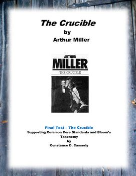 Marriage of John and Elizabeth in Arthur Miller's The Crucible Essays