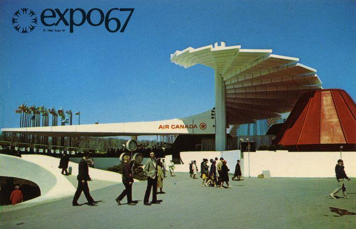 Expo 67 Air Canada pavilion