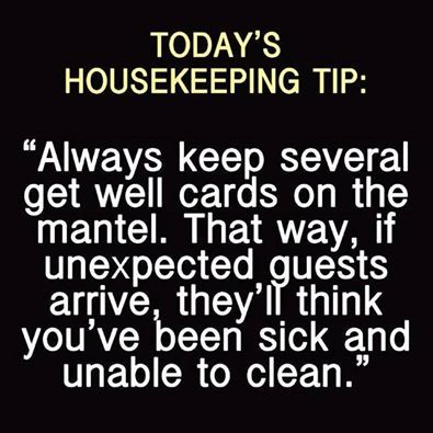 Housekeeping Quotes Unique 76 Best Housekeeping Quotes Images On Pinterest  Funny Stuff Humor . Design Decoration