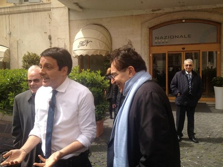 Il Matteo Renzi di striscia la notizia incontra Crocetta
