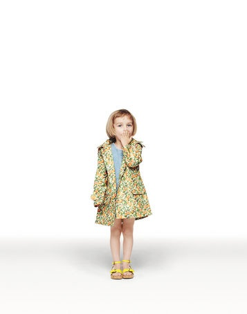 still love this little @Stella McCartney kids raincoat... it'd be sitting in my baby girl's closet for a long time before she grows into it though. ;)