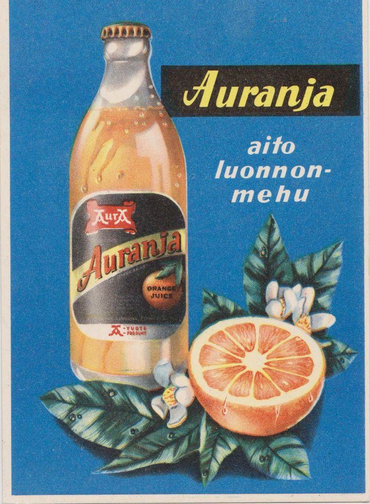 Auranja Orange Juice Ad.