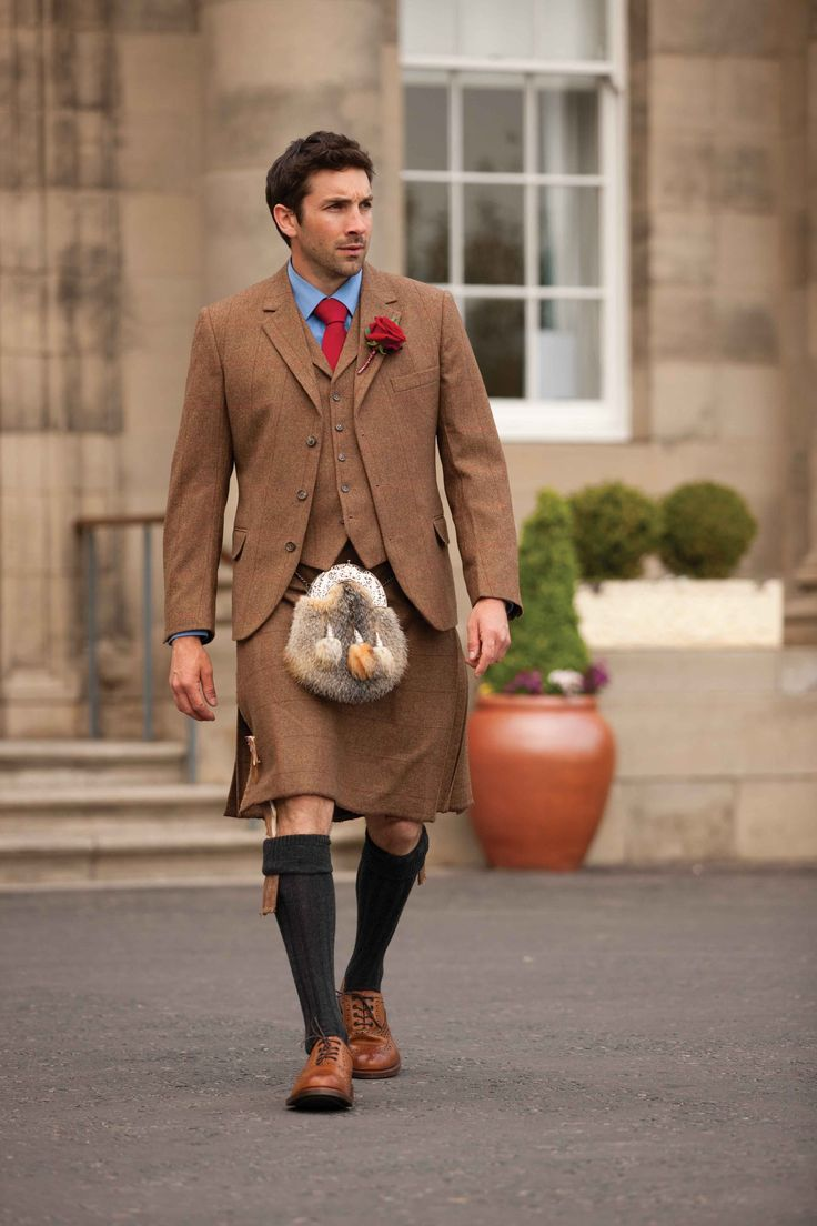 Bespoke Tweed Kilt Outfit - Outfits