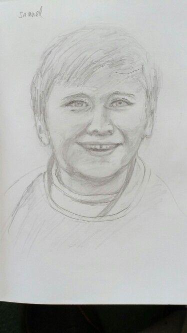 Samuel. Pencil sketch