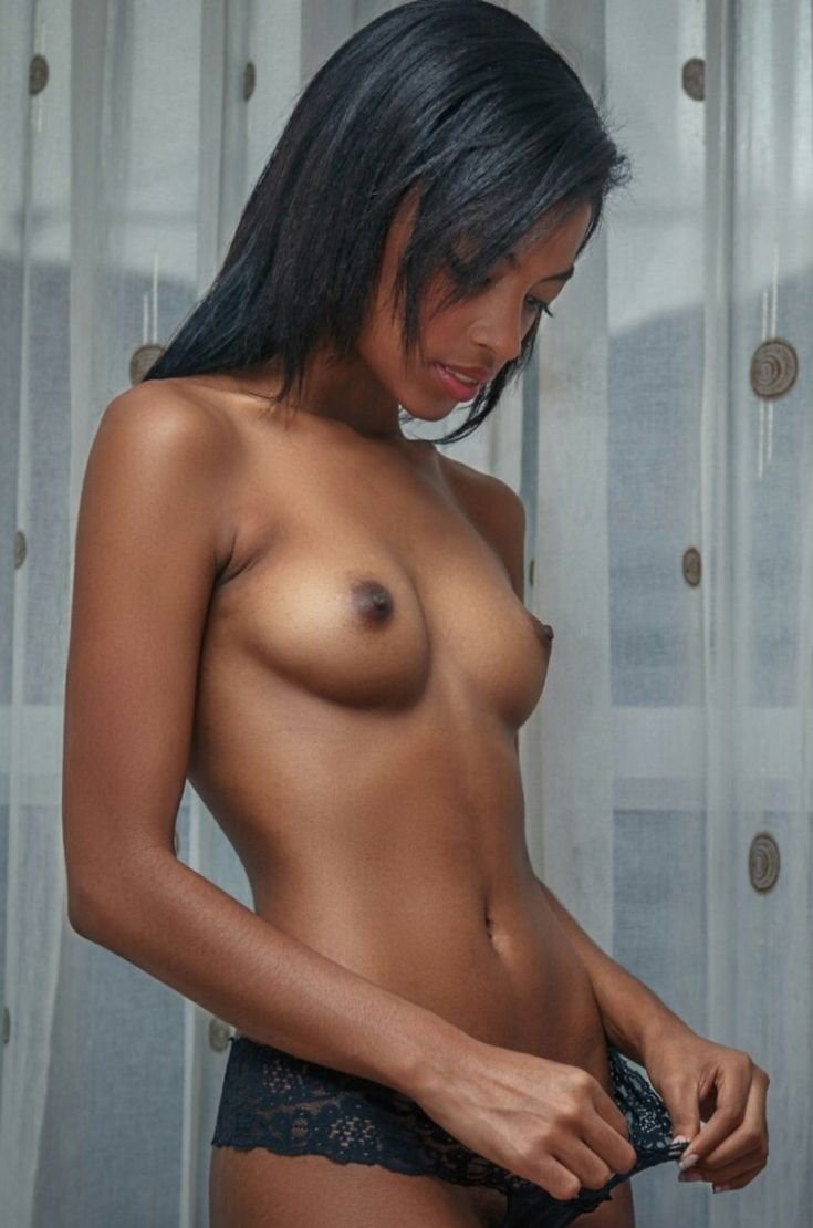 nude naked girl with short hair