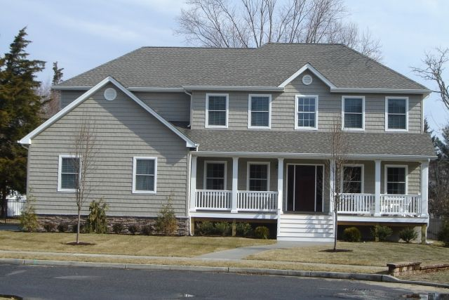 Certainteed Natural Clay With White Windows Amp Trim Home