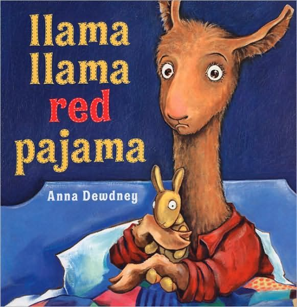 Llama Llama Red Pajama book activities, puppet template
