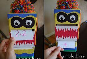 Simple Bliss: Monster Math Buddie