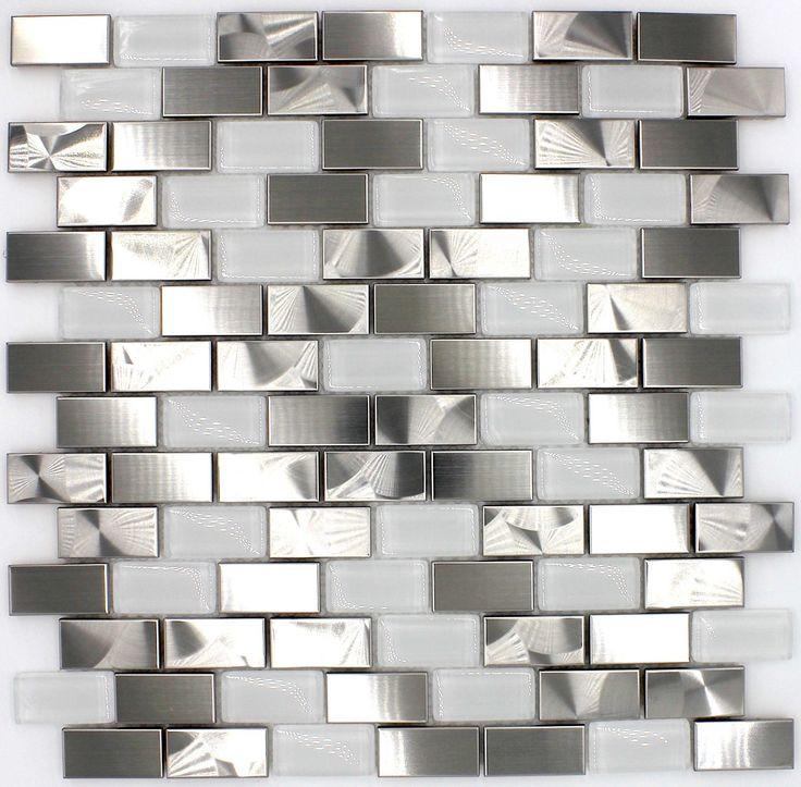 betegelde vloeren keuken van roestvrij staal mi-mul-bri16,90 €Lengte: 29,5 cm, breedte: 29,5 cm, Dikte: 8 mm, Materiaal: Acier inoxydable 304, kleur: gris, Tegelgrootte: 3 x 3 cm, Hoeveelheid: 1 plaat, oppervlak: 0,09 m2, Grootte van de plaat: 29,5 x 29,5 cm