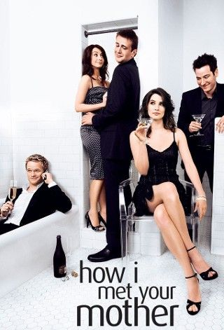 How I Met Your Mother: Writers Writing, With, Mothers, Picture-Black Posters, Tv Show, Robins, Watches Movie, Relationships, Funny People