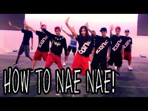 HOW TO NAE NAE | Dance TUTORIAL ft The Iconic Boyz (Hip Hop Moves) - YouTube