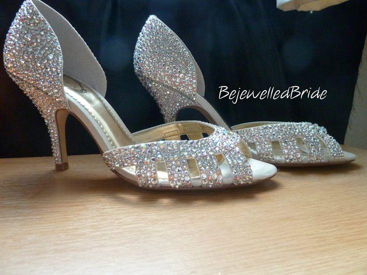 Swarovski Crystals Weding Shoes 014 - Swarovski Crystals Weding Shoes