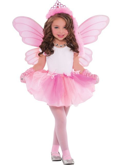 Girls Princess Fairy Costume Party City Toddler