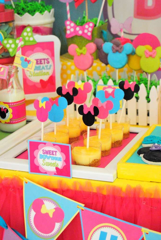 Minnie Mouse Birthday Party Ideas   Photo 1 of 74