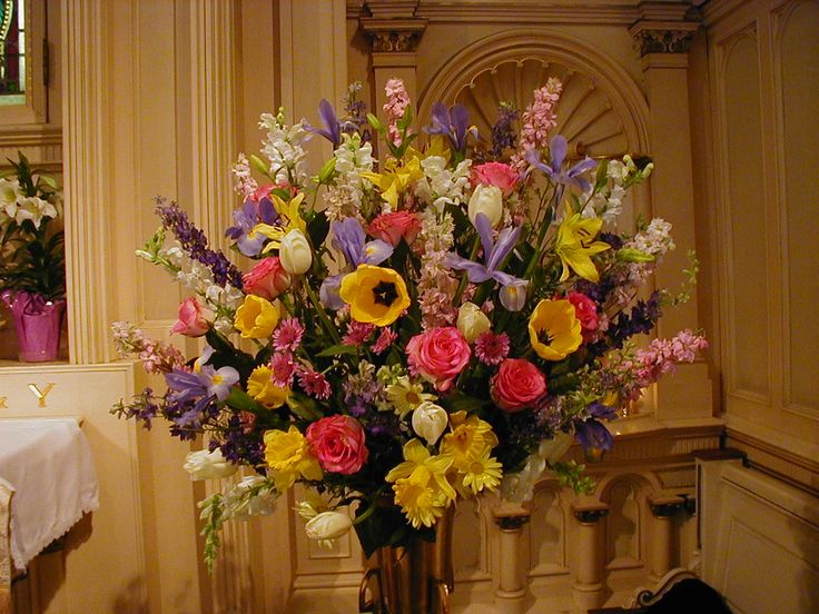 102 Best Images About Flower Arrangements For Church On