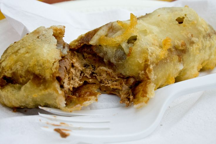 Deep-fried mars bars - the national dish created by the British tabloids