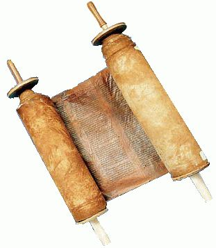 Roman scrolls made of papyrus purchased from Egypt. They also used animal skin.
