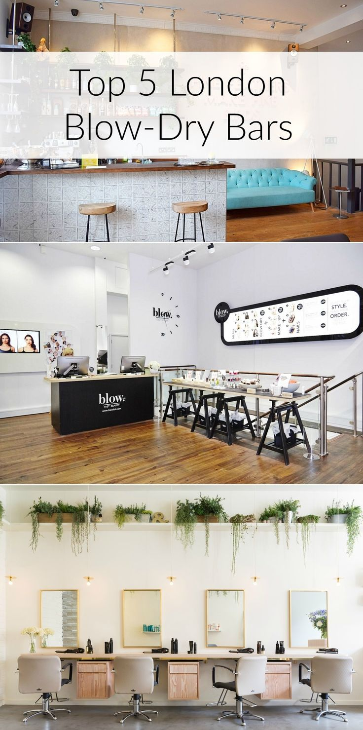 London Top 5 Blow Dry Bars To Visit!