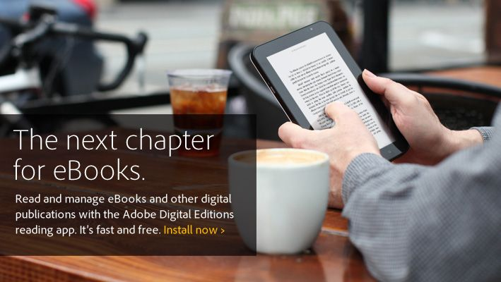 Adobe Digital Editions software offers an engaging way to view and manage eBooks and other digital publications. Use it to download and purchase digital content, transfer copy-protected ebooks, organize your ebooks into a custom library and annotate pages. #epub