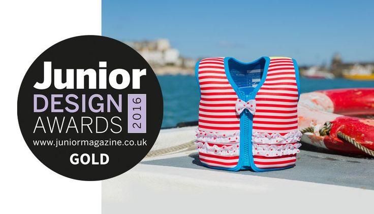 Konfidence Swimwear Wins Gold in the 2016 Junior Design Awards