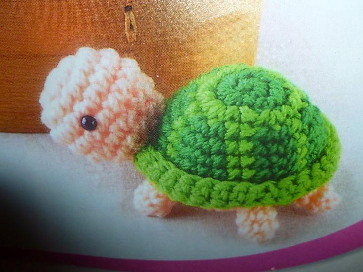 lavoretti creativi dall'uncinetto alla pittura: schema gratis amigurumi - la tartaruga