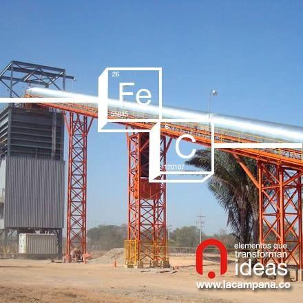 El acero presente en grandes estructuras. www.lacampana.co