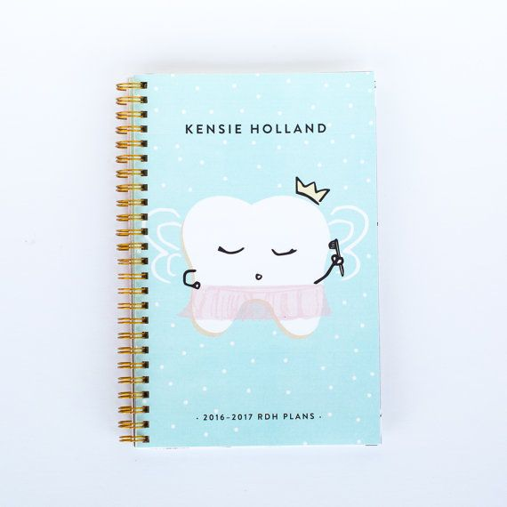Lilac Planner - Princess Prophy - Dental and Dental Hygiene Student Planner