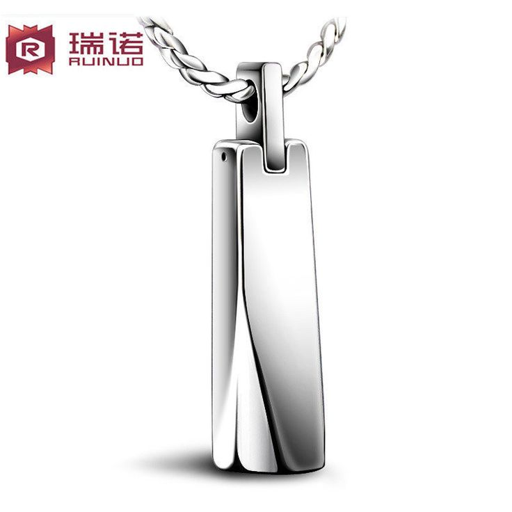 Free shipping,Tungsten bars and rods male necklace fashion male pendant necklace male accessories gift,2patterns