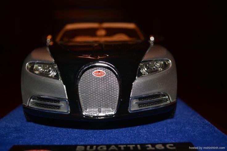 1 43 bugatti 16c galibier concept scale model. Black Bedroom Furniture Sets. Home Design Ideas